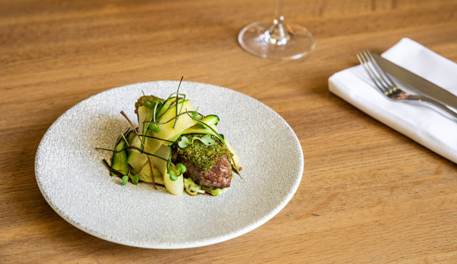 Fine Dining at The Dining Room, Lancemore Lindenderry Red Hill