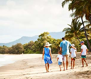 Family friendly hotel Palm Cove