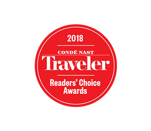 Conde Nast Traveler Logo Readers Choice Awards Boutique Hotel
