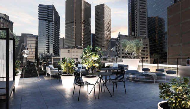 Lancemore Crossley St. Melbourne Conferencing Rooftop Bar Luxury boutique Hotel