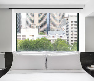 Lancemore Crossley St. Melbourne CBD Luxury Accommodation Henry Room