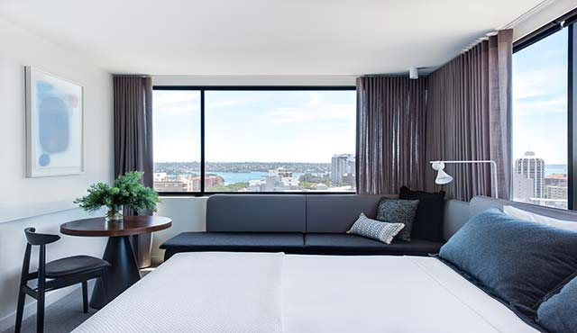 Sydney Accommodation Potts Point Harbour Views
