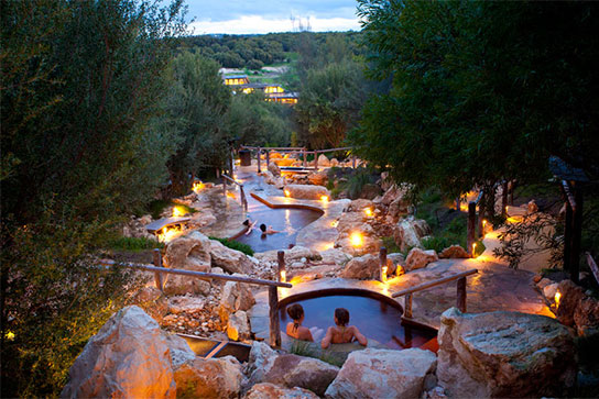 Peninsula Hot Springs accommodation package