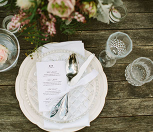 Mornington Peninsula wedding reception