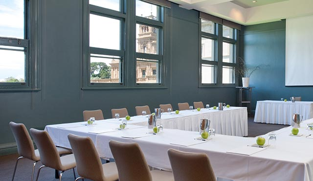 Light-filled conference venue