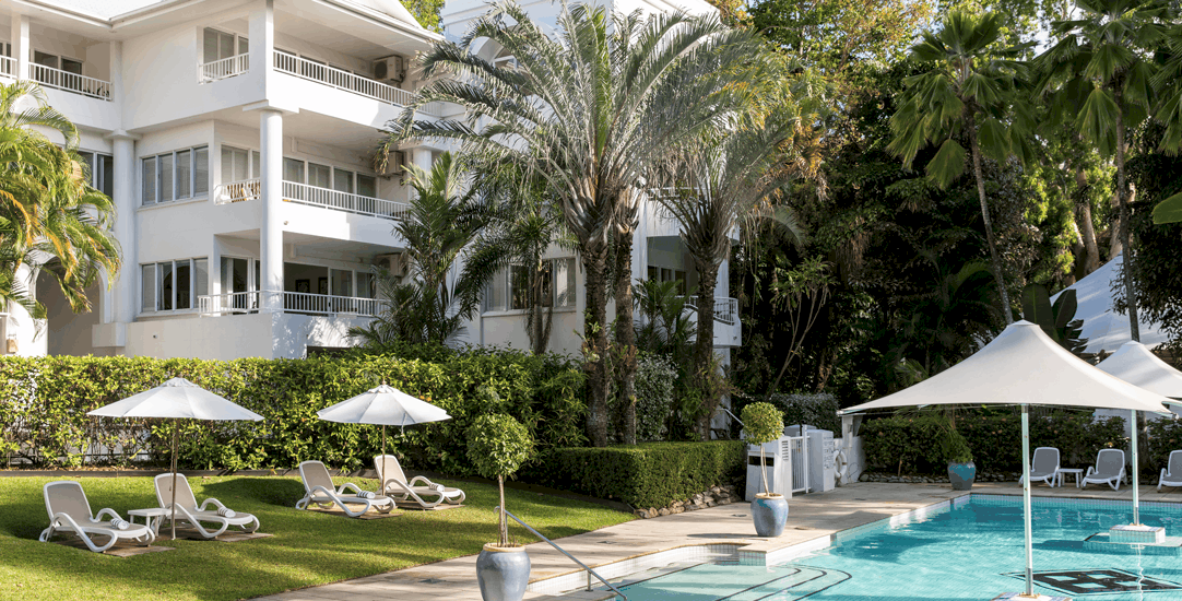 Alamanda Palm Cove by Lancemore Luxury Boutique Accommodation  Relax poolside