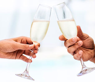 Complimentary welcome drinks book direct champagne booking boutique hotel mansion hotel spa