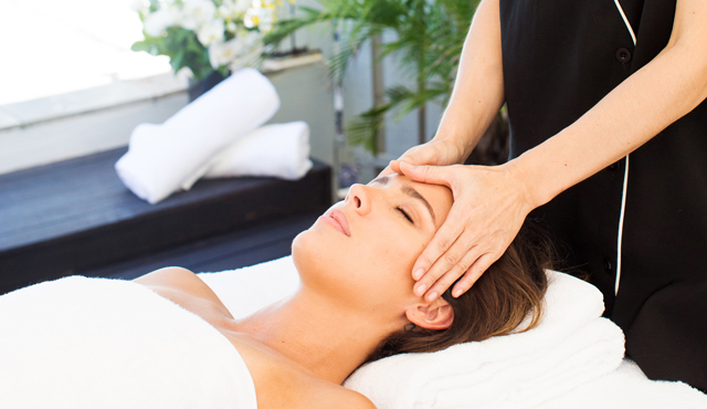 Head Massage Treatment Alamanda Spa Menu Palm Cove