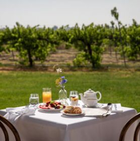 Lancemore Milawa King Valley Boutique Hotel Gourmet Breakfast & Relaxation